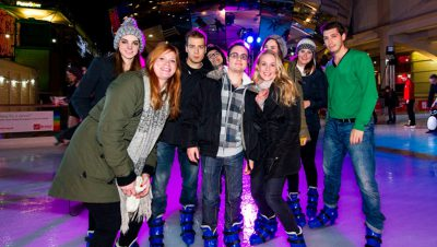 Get your skates on at the At-Bristol ice rink
