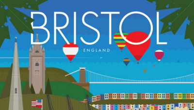 Win a Bristol poster made by local designers!