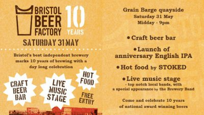 Bristol Beer birthday bash