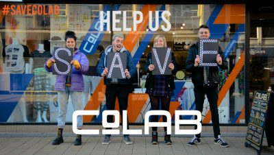 Support local artists and help save Co-LAB