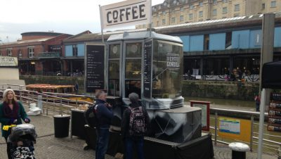 Bristol's strangest street food set-up yet?