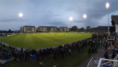 First use of floodlights at Brightside Ground
