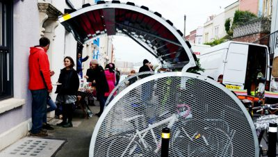 Is a cycle hangar heading to your street?