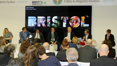Bristol sets out its stall in Paris