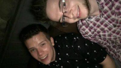 Blind date: Freddie and James