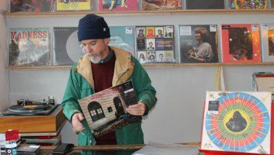 North Street's vinyl shop goes on record