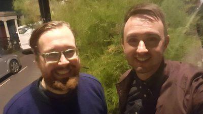 Blind date: Gareth and Ian