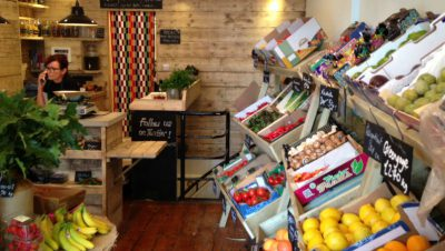 Mabel's Greengrocer opens on Chandos Road