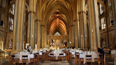 Chance to dine in Bristol Cathedral's nave