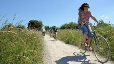 Local author's guide to traffic-free cycling