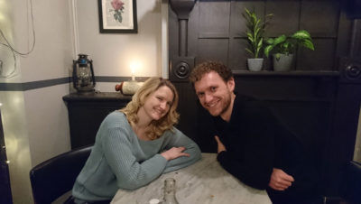 Blind date: Laura and Andy