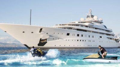 A dream job on a superyacht