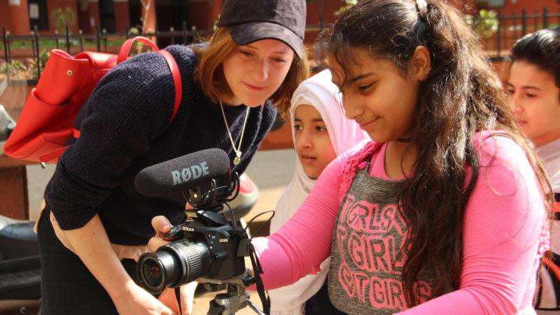 Refugee film project