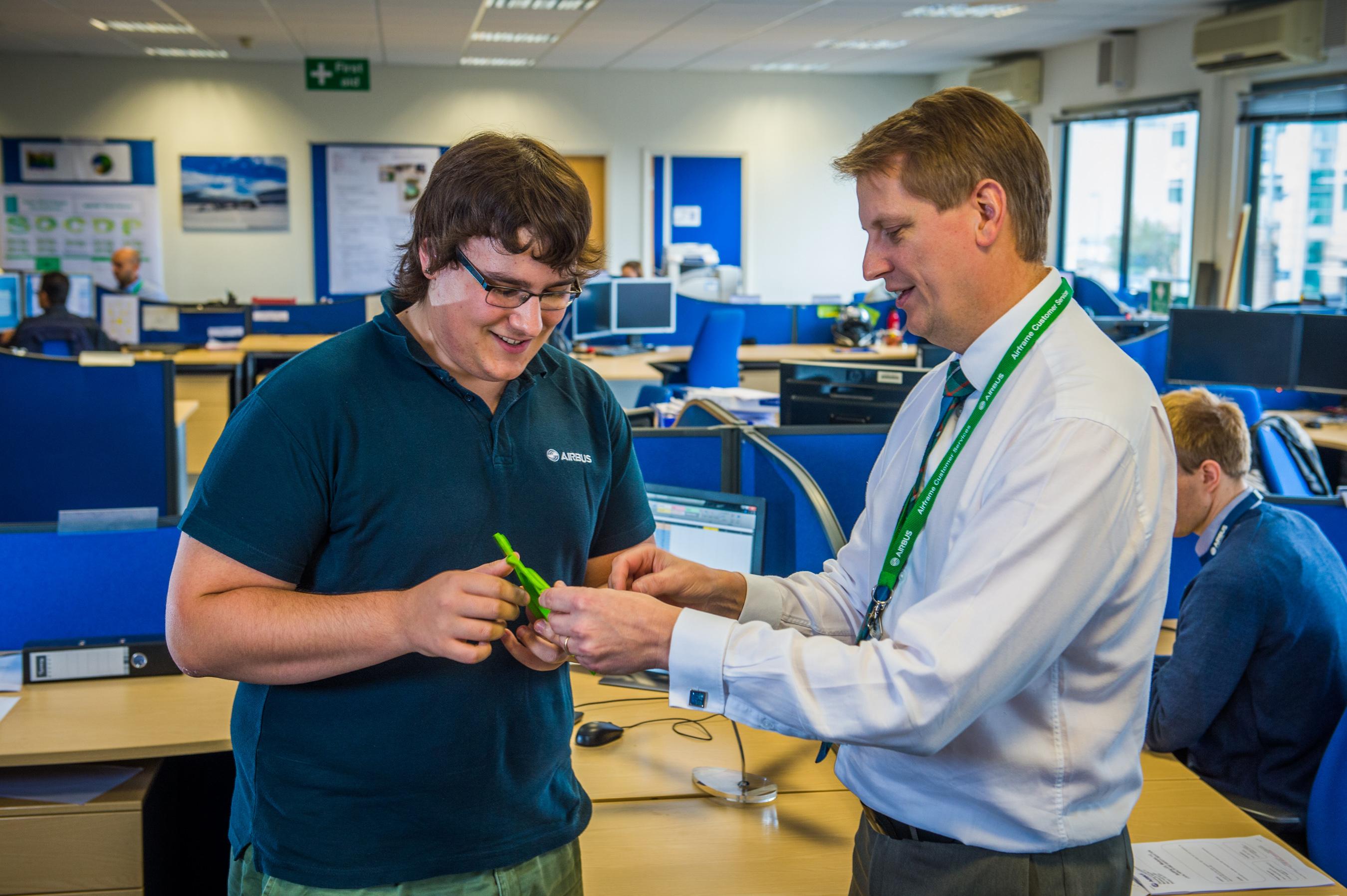 Airbus apprenticeship director Mark Stewart