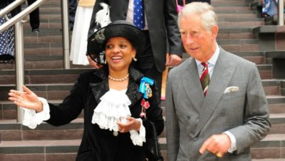 Peaches Golding becomes Queen's personal representative in Bristol