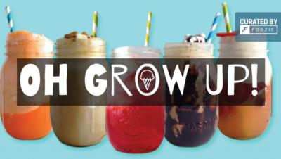 Gelato cocktails for grown-ups