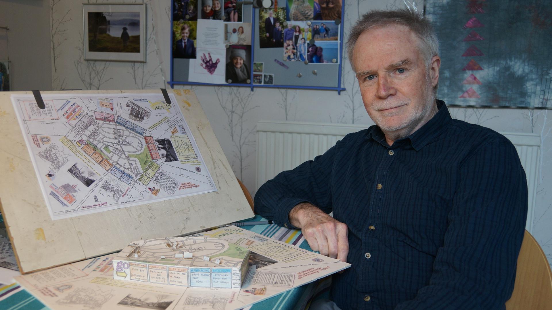 Jeff Bishop Author of Bristol Through Maps