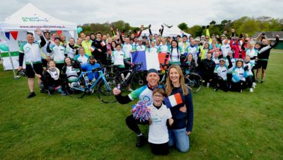 Pedal power supports Bristol's children's hospital