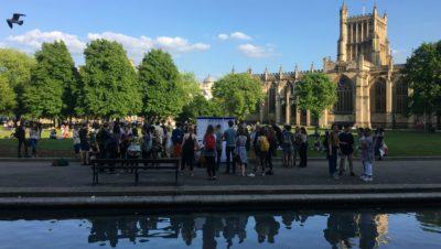 In pictures: Bristol's vigil against terror