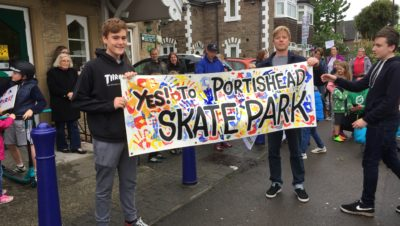 Portishead's skate park continues to be refused