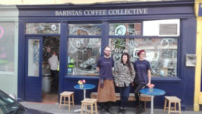 Baristas Coffee Collective stands up for local artists