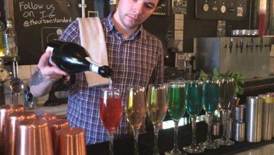 Bristol bar launches rainbow bubbly