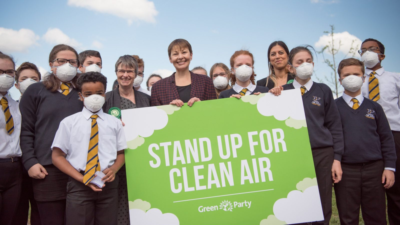 Image result for green party clean air