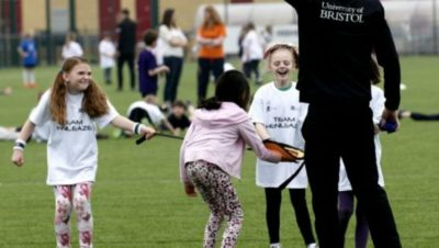 More than 900 youngsters take part in alternative sports day