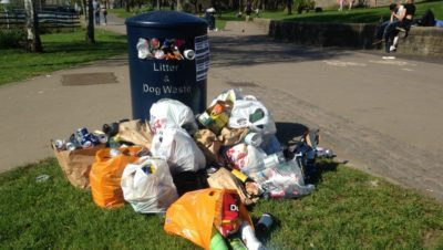 Bristol's rubbish heroes