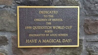Celebrating Bristol's connections to Harry Potter