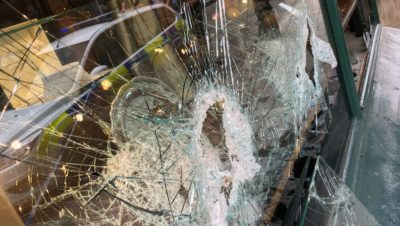 Two men arrested after smash and grab at Clifton jewellers