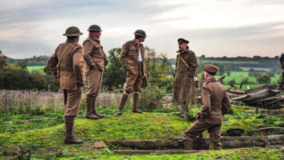 The Somme 1916: From Both Sides of the Wire + intro