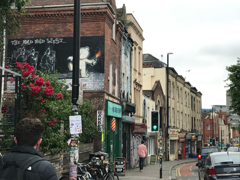 Stokes Croft has much to offer to Bristol's city goers.