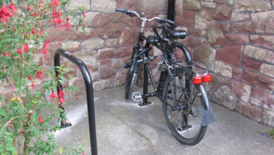 Charity offers free cycle parking stands to businesses