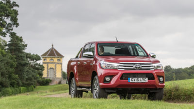 Hilux the hero in commercial fleet awards