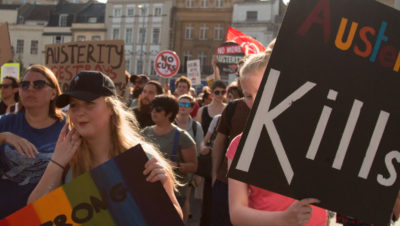 Bristol's mass demonstration against austerity