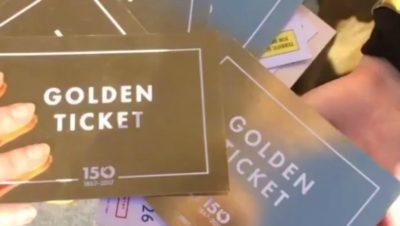 Colston Hall are hiding golden tickets across Bristol
