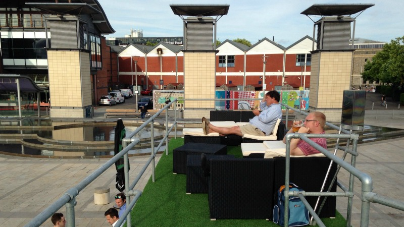 Is this the best place to watch wimbledon in bristol for The terrace bar and food