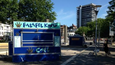 Falafel King on the move