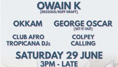 Club Afro Tropicana All-Dayer