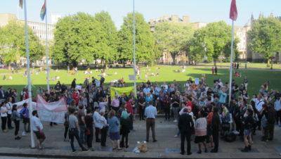 Bristol stands united against racism