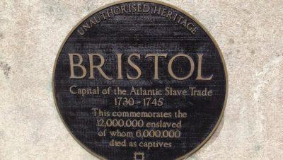 New plaque on Colston statue brands Bristol slavery capital