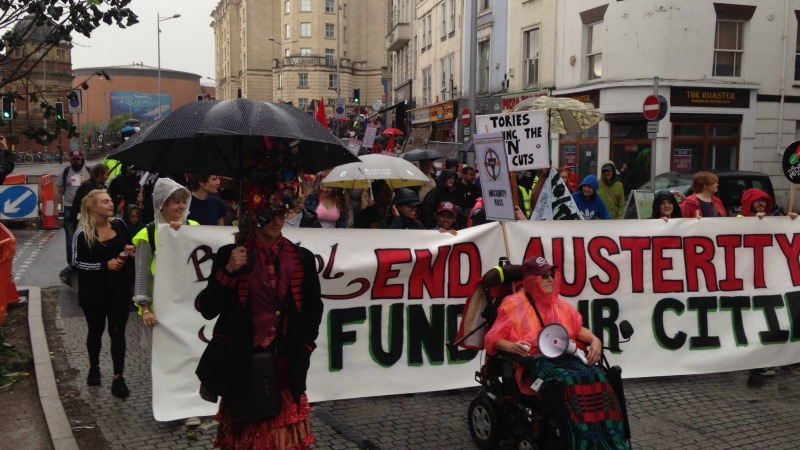 Bristol rallied against austerity – what happens now?