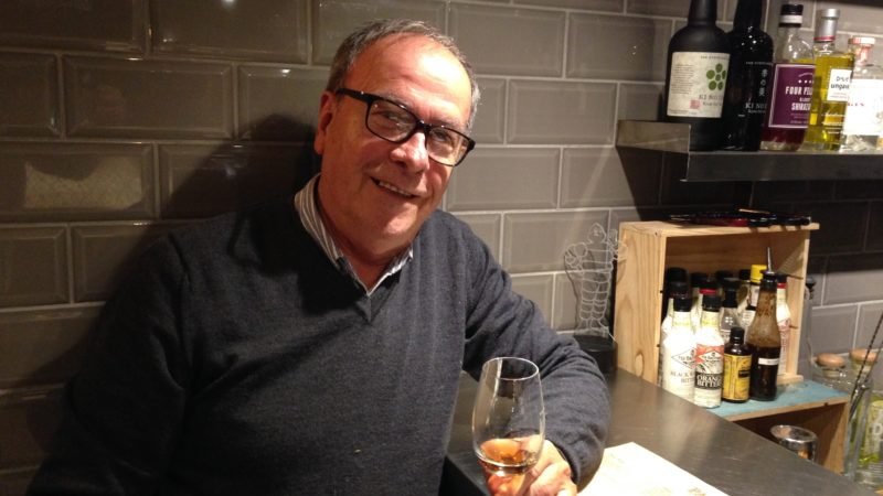 A sherry with Paco Sanchez-Iglesias in Paco Tapas