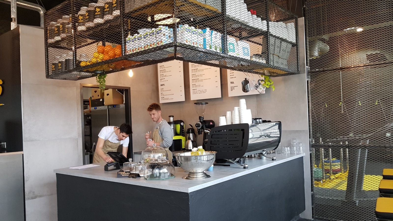 Fueld Cafe Review
