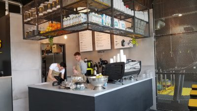 Chocolate Shop And Café Opens On Park Street