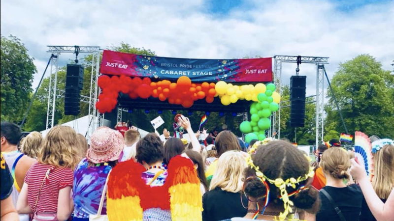 In photos: Bristol Pride Day at The Downs