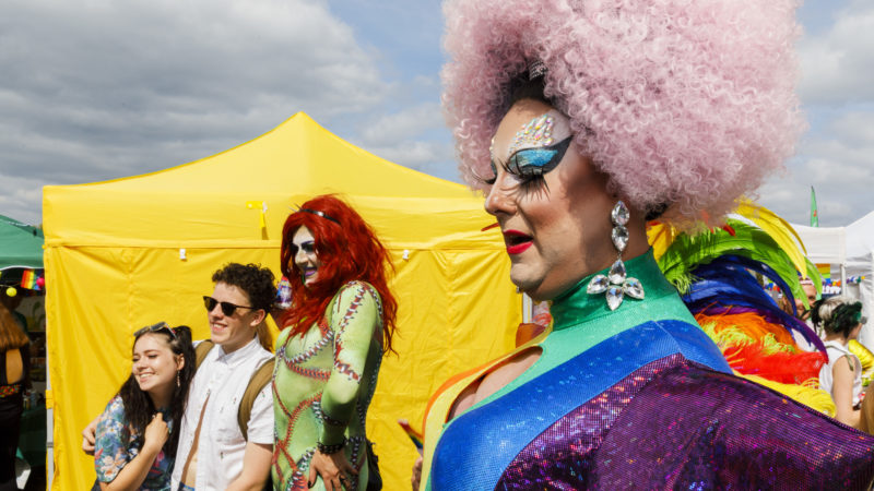 Exclusive Bristol Pride Day images from Martin Parr