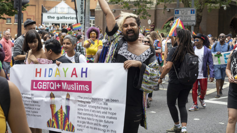 'People think they have to be one or the other, that they can't be gay and Muslim'