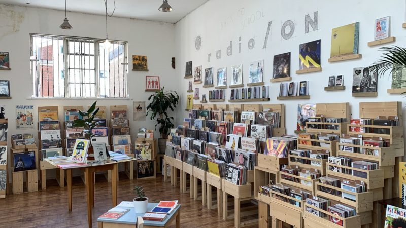 'It's unusual to find a store which focuses queer and feminist music but it's important'